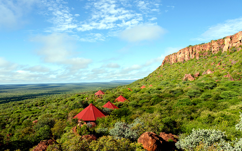 Waterberg Plateau Lodge in the Waterberg Wilderness private nature reserve